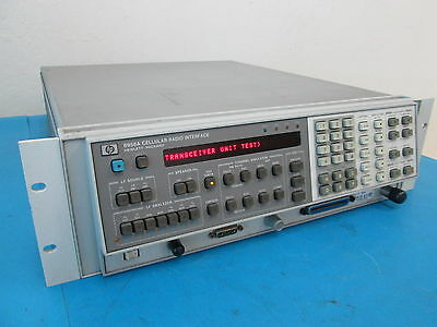Hp 8958A Cellulaire Radio Interface avec Opt 003