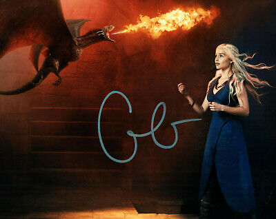 Emilia Clarke Game of Thrones signed autographed  8x10 photo E949