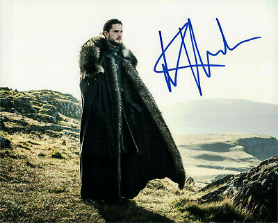 Kit Harington Game of Thrones signed autographed  8x10 photo L2389