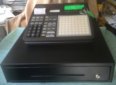 CASIO SE-C2000 Electronic Cash Register With Till Rolls And Free P&P