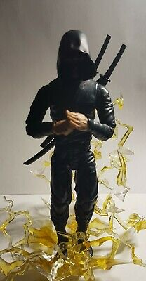 Articulated icons feudal series Ninja Lightning Effect
