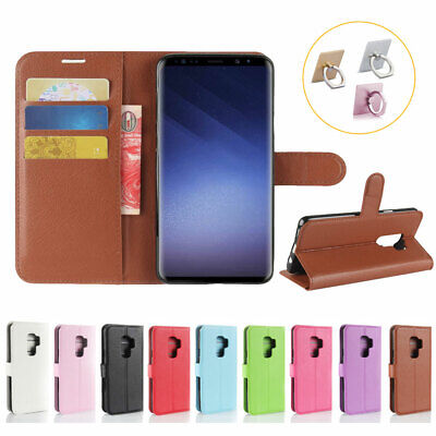 Flip Wallet Case PU Leather Cover For Samsung NOTE 8 5 4 S7 S6 S9 Edge Plus A J