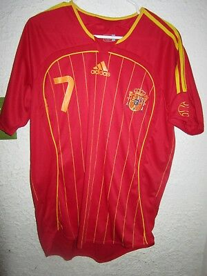 e8bd78d2bf2 Authentic ADIDAS 2006 World Cup LARGE Soccer Jersey #7 Raul Gonzalez Real  Madrid