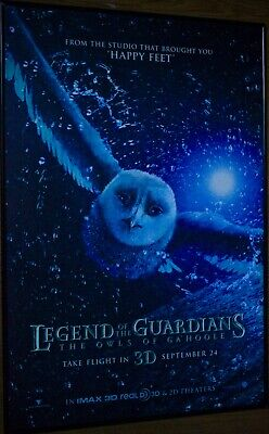 LEGENDS OF THE GUARDIANS: OWLS OF GA'HOOLE (2010) Orig Movie Poster DS 27x40