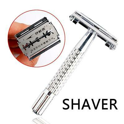 Men Adjustable Double Edge Shaving Alloy Safety Razor Holder Retro New TOP