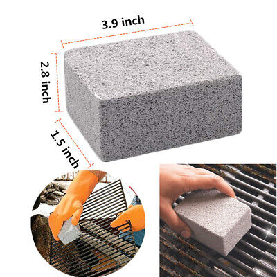 for Barbecue BBQ Grill Cleaning Tool Griddle Pumice stone Brick 3.9x1.5x2.8inch