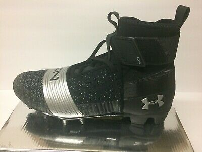 5584b75532d7 UNDER ARMOUR UA C1N MC CAM NEWTON FOOTBALL CLEATS MENS size 10.5 BLACK MSRP  $160