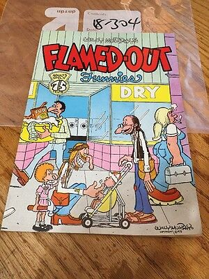 Flamed Out Funnies 1 Rip Off Keith Green 1975 VG Willy Murphy