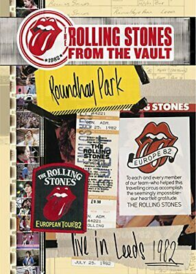 New ROLLING STONES FROM THE VAULT LIVE IN LEEDS 1982 JAPAN BLU-RAY + 2 CD