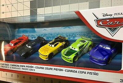 Disney Pixar Cars 3 Diecast Piston Cup Race 5 Pack Leak Less Next