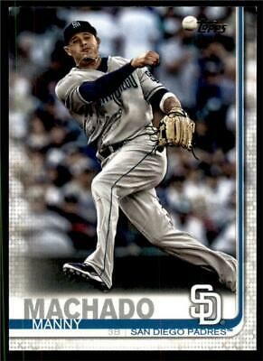 2019 Topps Series 2 Base #500 Manny Machado