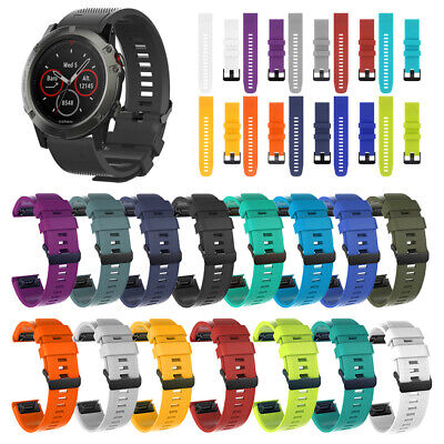 Watch band Wrist Strap Quick Release Silicone For Garmin Fenix 5 5X 5S plus