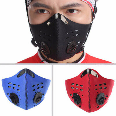 2019 Workout Sports Training Facial Mask Running Gym Fitness Mask High Altitude