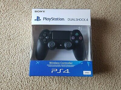 Sony DualShock 4 V2 Jet Black Controller PS4 Genuine Bluetooth DS4 ZUH-ZCT2E
