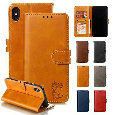 Magnetic Leather Case Flip Stand Wallet Cover For Apple iPhone XS MAX XR X 8 7 6