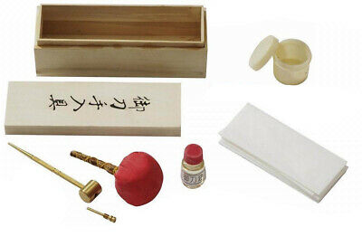 New Complete Cleaning Kit for Japanese Samurai Sword