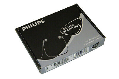 Philips 234/10 de Luxe Earphones Double Tonsystem Mint!!! *25
