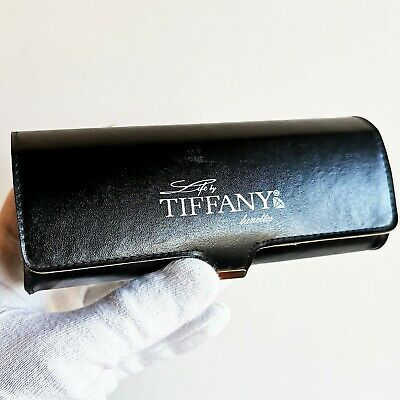 fodero occhiali da sole vista TIFFANY lunettes box case sunglasses vintage rare
