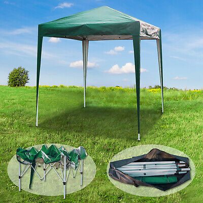 2Mx2M Gazebo Marquee Canopy Pop-up Waterproof Garden Wedding Party Tent Green