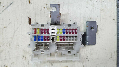 2012 nissan sentra fuse box relay under dash oem