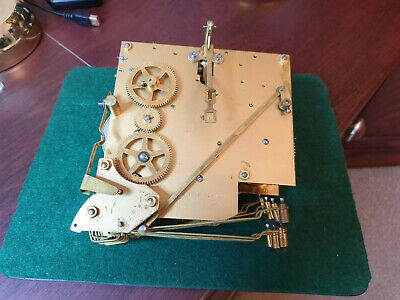 vintage westmins chime clock movement pat no 421434 made in england spare parts.