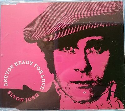 Elton John : Are You Ready for Love - CD Single