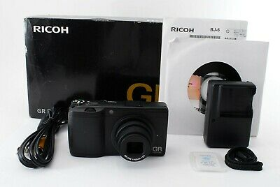 【TOP MINT in BOX】Ricoh GR Digital II 10.1MP Digital Camera from Japan #2057