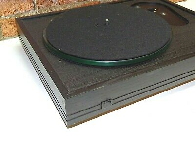 Systemdek IIX Vintage Vinyl Turntable Record Player Deck  (NO TONEARM OR LID)