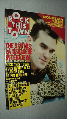 Rock This Town 53 (12/87) Smiths George Michael Jean-Jacques Goldman Bee Gees(2)