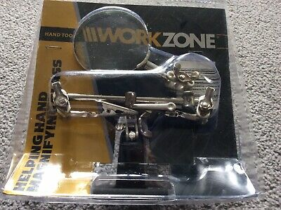 Workzone Helping Hands Magnifying Glass.