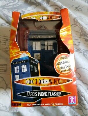 BBC Doctor Who TARDIS Phone Flasher Brand New Boxed