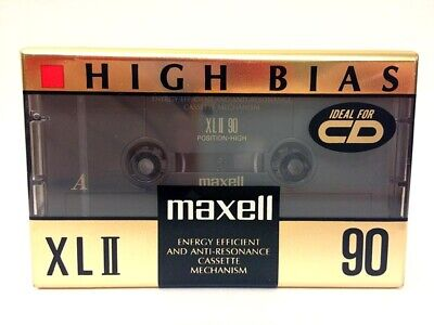Maxell Xl Ii 90 Blank Audio Cassette Tape New Rare 1992 Year Japan Made
