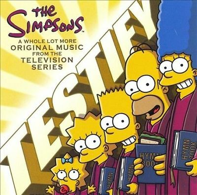 Testify by The Simpsons (Cartoon) (CD, Sep-2007, Shout! Factory)