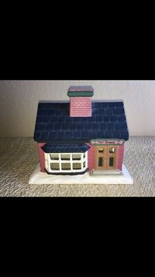Vintage House Ceramic Toy Store Hand Painted Byron Molds 1979