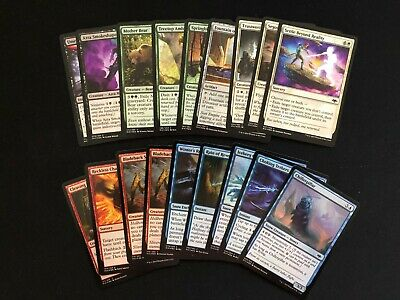 Magic the Gathering - 18 Common FOIL - Modern Horizons - English - Lot/Sammlung