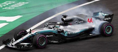 MERCEDES AMG PETRONAS W09 HAMILTON MEXICAN GP WORLD CHAMPION 2018 L.E. 1018 pcs.