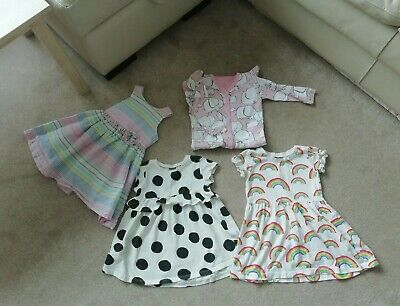 Baby Girls Bundle 12-18 Months Next Dresses Babygrow Next Mothercare
