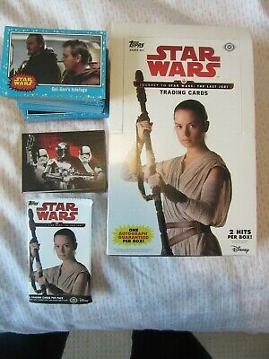Journey To Star Wars: The Last Jedi Bundle, Complete Set + Chase Set, Topps USA