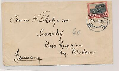 LK03736 South Africa 1929 to Potsdam Germany fine cover