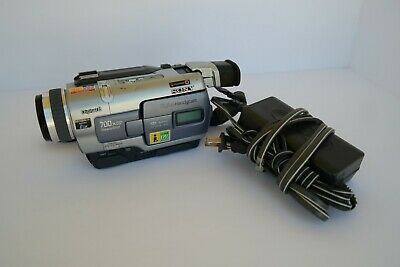 Sony Handycam DCR-TRV330 Digital Recorder Camcorder working with power adapter