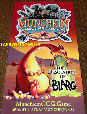 Munchkin Desolation Of Blarg Poster Ccg Collectible Card Game Dragon Jackson Tcg