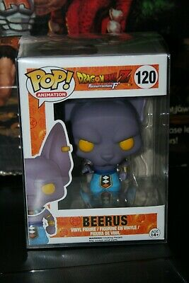 Funko POP - Dragon Ball Z - Beerus #120 - with Protective Case! NEW!