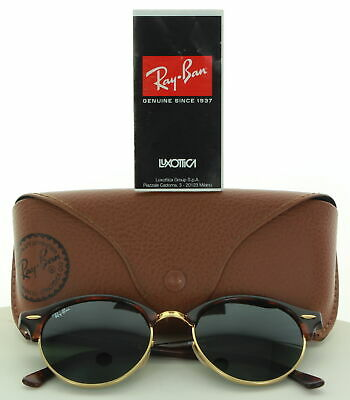 421b82b53 Rayban Clubround Rb 4246 990 15/19 145 3N Gold/Tortoise Shell Frame  Sunglasses