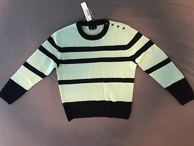 00b9d379ec499 Nwt J Crew Collection Small Italian Cashmere Sweater Waffle Knit Striped S