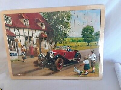 Simplex Nostalgic Wooden Puzzle Series SEALED NEW In Package