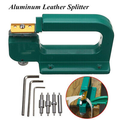 Aluminum Leather Craft Device Leather Splitter Edge Skiving Tool Paring Cutter