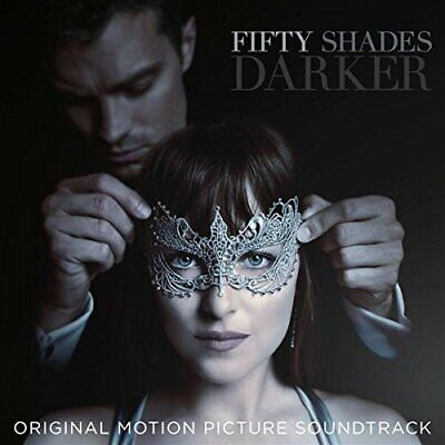 FIFTY 50 SHADES DARKER ORIGINAL MOTION PICTURE SOUNDTRACK OST AUDIO CD New UK