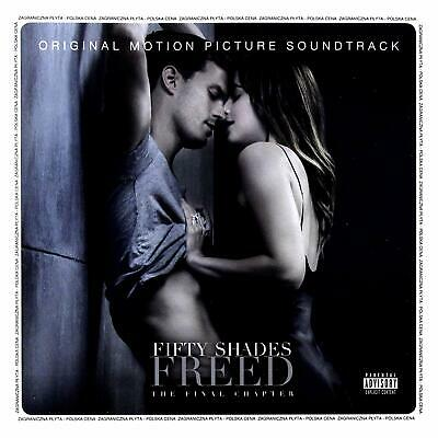 FIFTY 50 SHADES FREED ORIGINAL MOTION PICTURE SOUNDTRACK OST AUDIO CD New UK