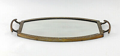 8433005 Mirrored Tray Art Déco um 1930-50 Metal Version