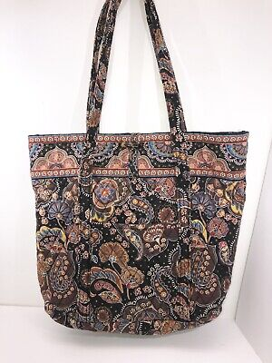Vintage Travel Bradley Floral Tote Villager Pattern Vera Carry Zip orxCBdeWQE